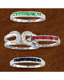 Kelly Herd Sterling Silver Interchangeable Horseshoe Ring, , hi-res
