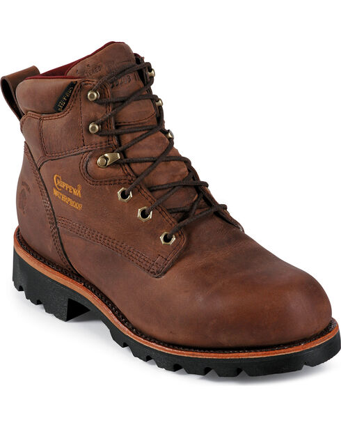 Chippewa Men's Insulated Waterproof Arctic Work Boots, Bay Apache, hi-res
