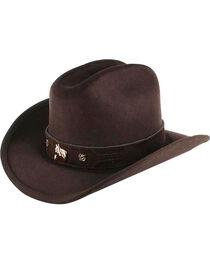 Cody James® Kid's Wool Cowboy Hat, , hi-res