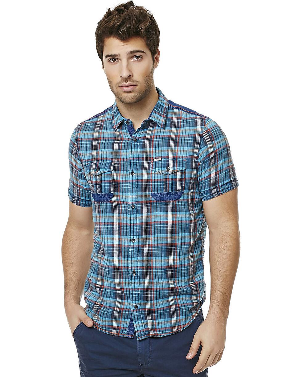 Buffalo Men's Sihab Plaid Shirt , Plaid, hi-res