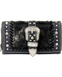 Shyanne Women's Faux Fur Tri-Fold Wallet, , hi-res