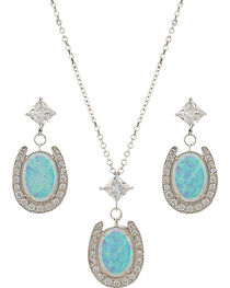 Montana Silversmiths Luck in the Evening Sky Jewelry Set, , hi-res