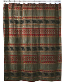 Carstens Bear Country Shower Curtain, , hi-res