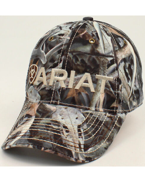 Ariat Men's Shield Bonz Cap, Camouflage, hi-res