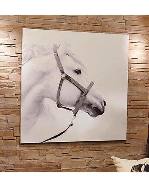 Gift Craft Oil Paint Canvas Horse Wall Decor, No Color, hi-res