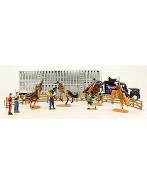 Bigtime Rodeo Complete Bull Hauler Rodeo Set, Grey, hi-res