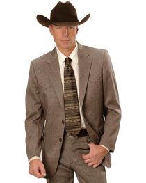 Circle S Men's Lubbock Suit Coat - Short, Reg, Tall, , hi-res