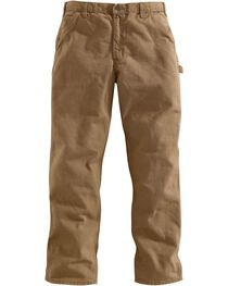 Carhartt Desert Washed Duck Dungaree Work Pants - Big & Tall, , hi-res