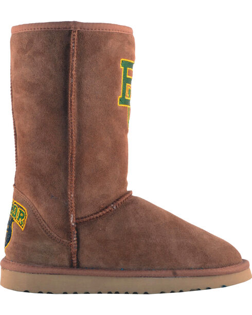 Gameday Boots Women's Baylor University Lambskin Boots, Tan, hi-res