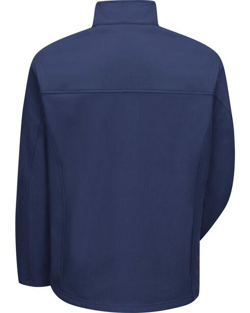 Red Kap Men's Navy Soft Shell Jacket - Big & Tall , Navy, hi-res