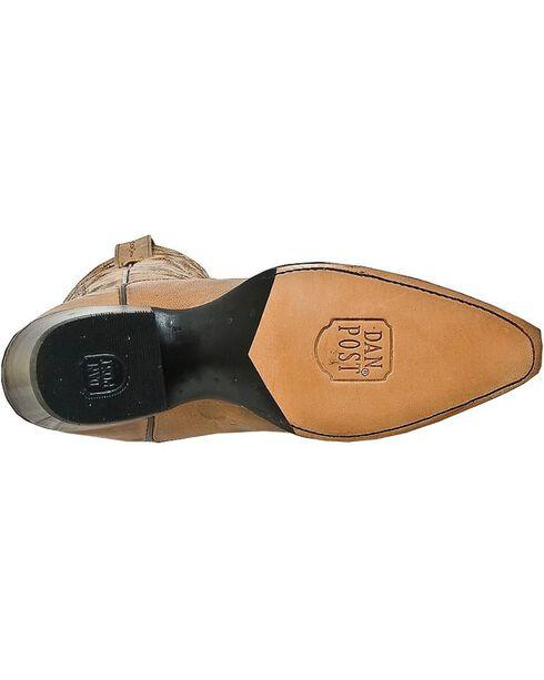 Dan Post Women's Santa Rosa Western Boots, Tan, hi-res
