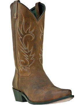 Laredo Men's Willow Creek Snip Toe Western Boots, Tan, hi-res