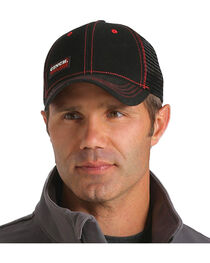 Cinch Men's WRX Black Workwear Cap, , hi-res