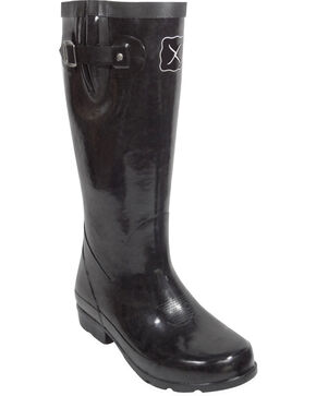 Twisted X Women's Mud Work Boots, Black, hi-res