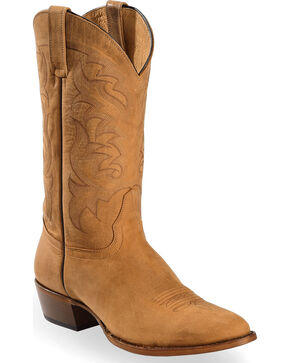 Moonshine Spirit Men's Crazy Horse Vintage Western Boots, Tan, hi-res