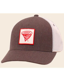 Twister Youth Logo Brown Mesh Back Ball Cap, , hi-res