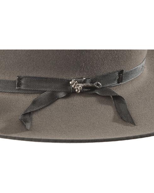 Stetson Men's Royal Deluxe Open Road Hat , Grey, hi-res
