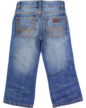 Wrangler Boys' Retro Relaxed Boot Cut Denim Jeans, Blue, hi-res