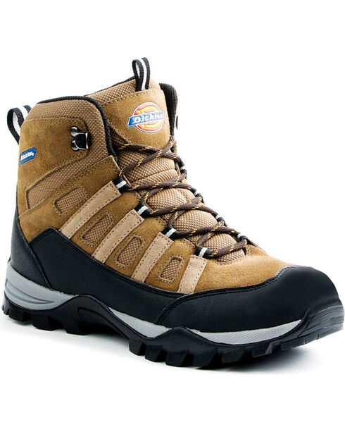 Dickies Men's Escape Steel Toe Boots, Brown, hi-res