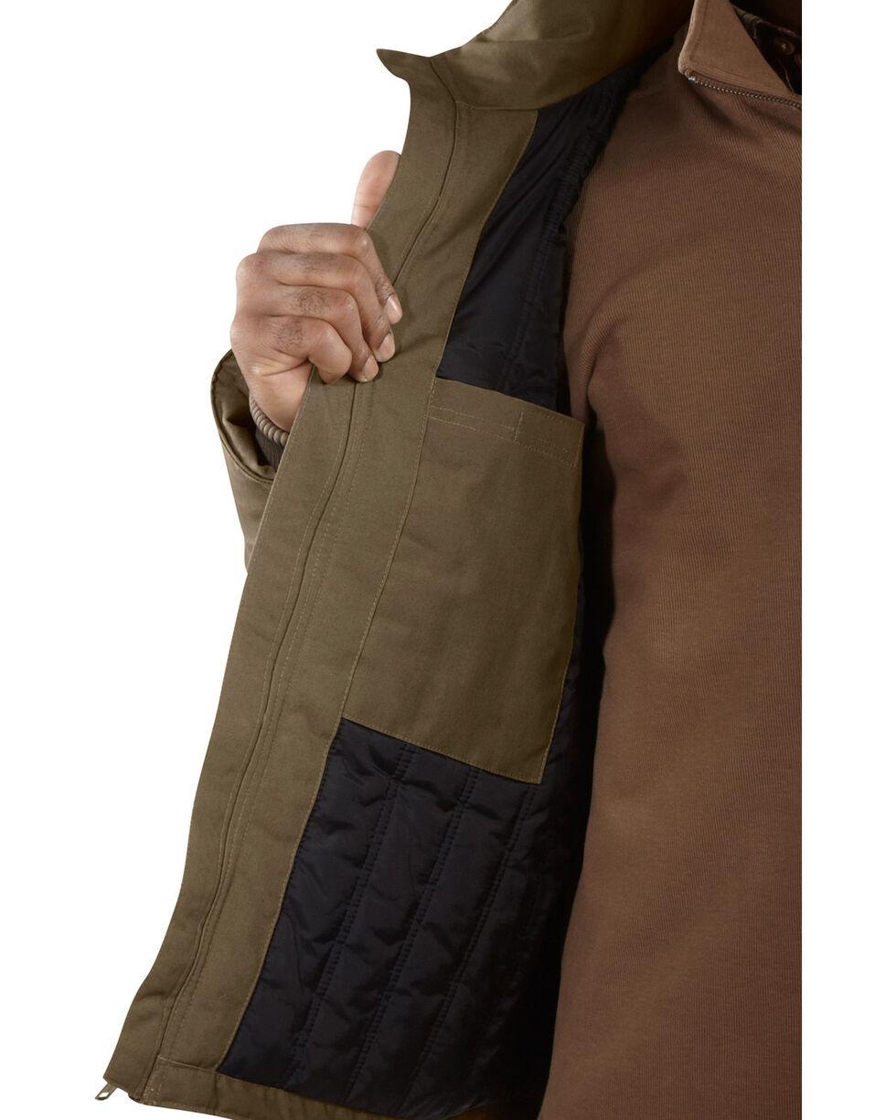 Carhartt Men's Quick Duck Rain Defender Traditional Jacket - Big , Brown, hi-res