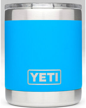 Yeti Tahoe Blue 10 oz. Lowball Rambler , Blue, hi-res