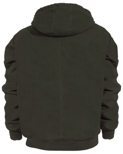 Berne High Country Hooded Jacket - Sherpa Lined - 3XL and 4XL, Olive Green, hi-res