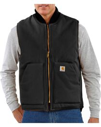 Carhartt Arctic Quilted Canvas Duck Vest, , hi-res