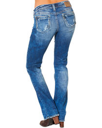 Silver Women's Aiko Mid Dark Wash Bootcut Jeans , , hi-res