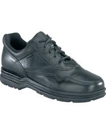 Rockport Men's Pro Walker Athletic Oxford Shoes - USPS Approved, Black, hi-res