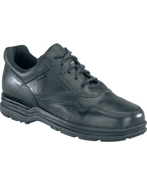 Rockport Men's Pro Walker Athletic Oxford Shoes - USPS Approved, Black, hi-res