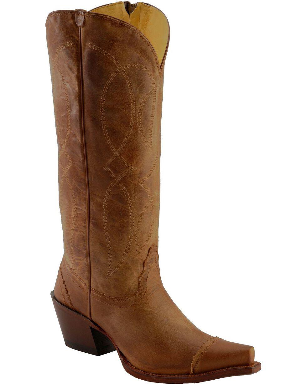 Tony Lama Women's 100% Vaquero Western Boots, Tan, hi-res