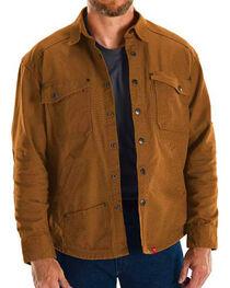 Red Kap Brown MIMIX Shirt Jac Work Jacket, , hi-res