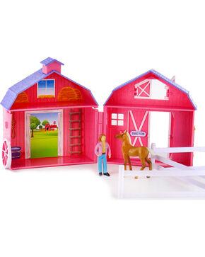 Breyer Stablemates Horse Crazy Pocket Barn, Multi, hi-res