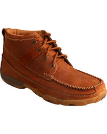 Twisted X Women's Saddle Lace-Up Driving Mocs, , hi-res