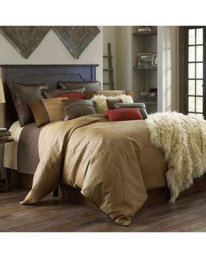HiEnd Accents Brighton Full Size 4-Piece Bedding Set, Tan, hi-res