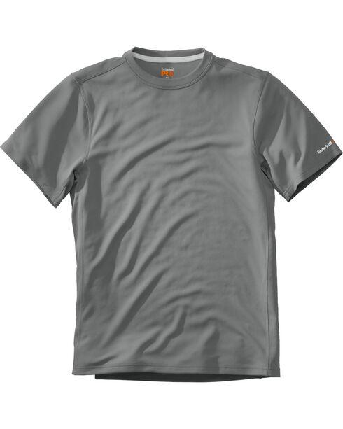Timberland Men's Wicking Good Short Sleeve T-Shirt , Medium Grey, hi-res