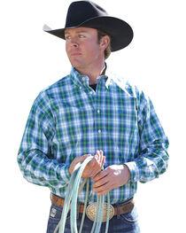 Cinch Men's Plaid Western Shirt, , hi-res