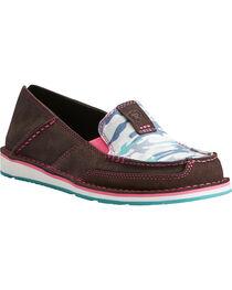 Ariat Women's Sky Camo Print Cruiser Shoes- Moc Toe, , hi-res