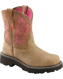 Ariat Fatbaby Bomber Cowgirl Boots - Round Toe, , hi-res