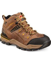 Red Wing Irish Setter Two Harbors Waterproof Hiker Work Boots - Aluminum Toe  , , hi-res