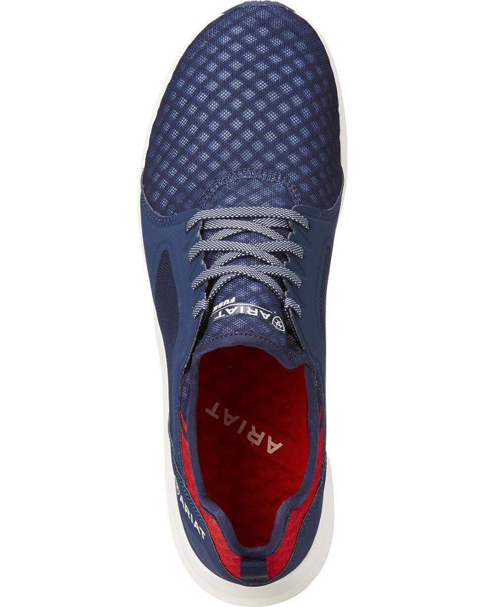 Ariat Men's Navy Fuse Team Shoes , Navy, hi-res