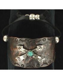 Blazin Roxx Crossed Arrows Cuff Bracelet, , hi-res