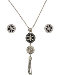 Shyanne® Women's Coin Medallion Jewelry Set, , hi-res