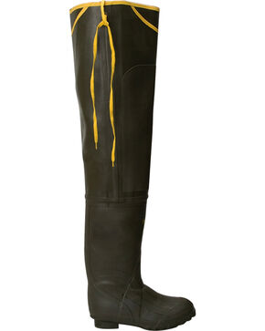 Lacrosse Men's Trapline Hip Wader Boots, Olive, hi-res