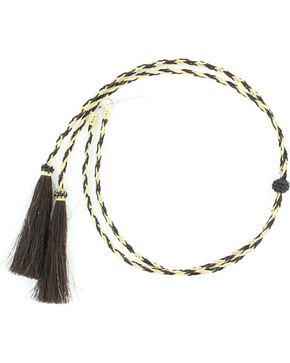 Horsehair Stampede Strings, Black, hi-res