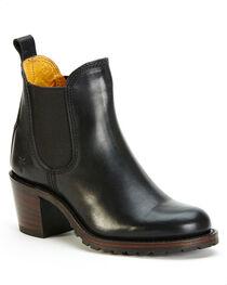 Frye Women's Black Sabrina Chelsea Boots - Round Toe , , hi-res