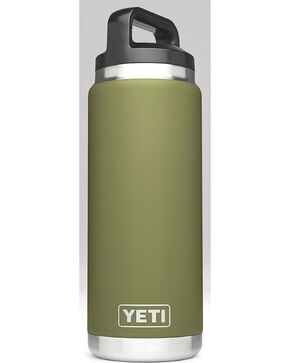 Yeti Olive Green 26 oz. Bottle Rambler , Olive, hi-res