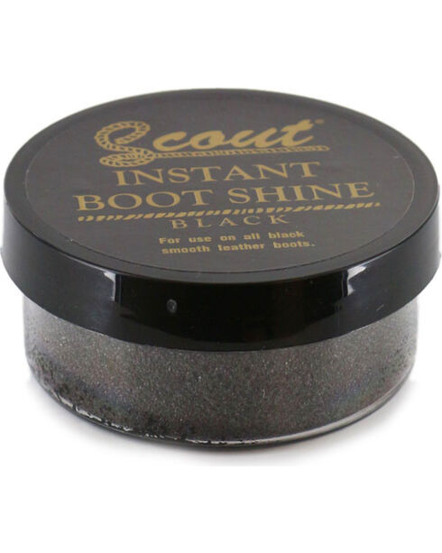 Scout Instant Black Boot Shine, Black, hi-res