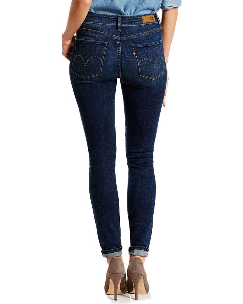 Levi's Women's Mid-Rise Skinny Jeans, Blue, hi-res