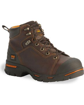"Timberland Pro Men's Endurance PR 6"" Steel Toe Work Boots, Briar, hi-res"